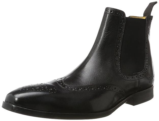 Mens Greg 2 Chelsea Boots, Venice Black, Ela. Black, Hrs Melvin & Hamilton
