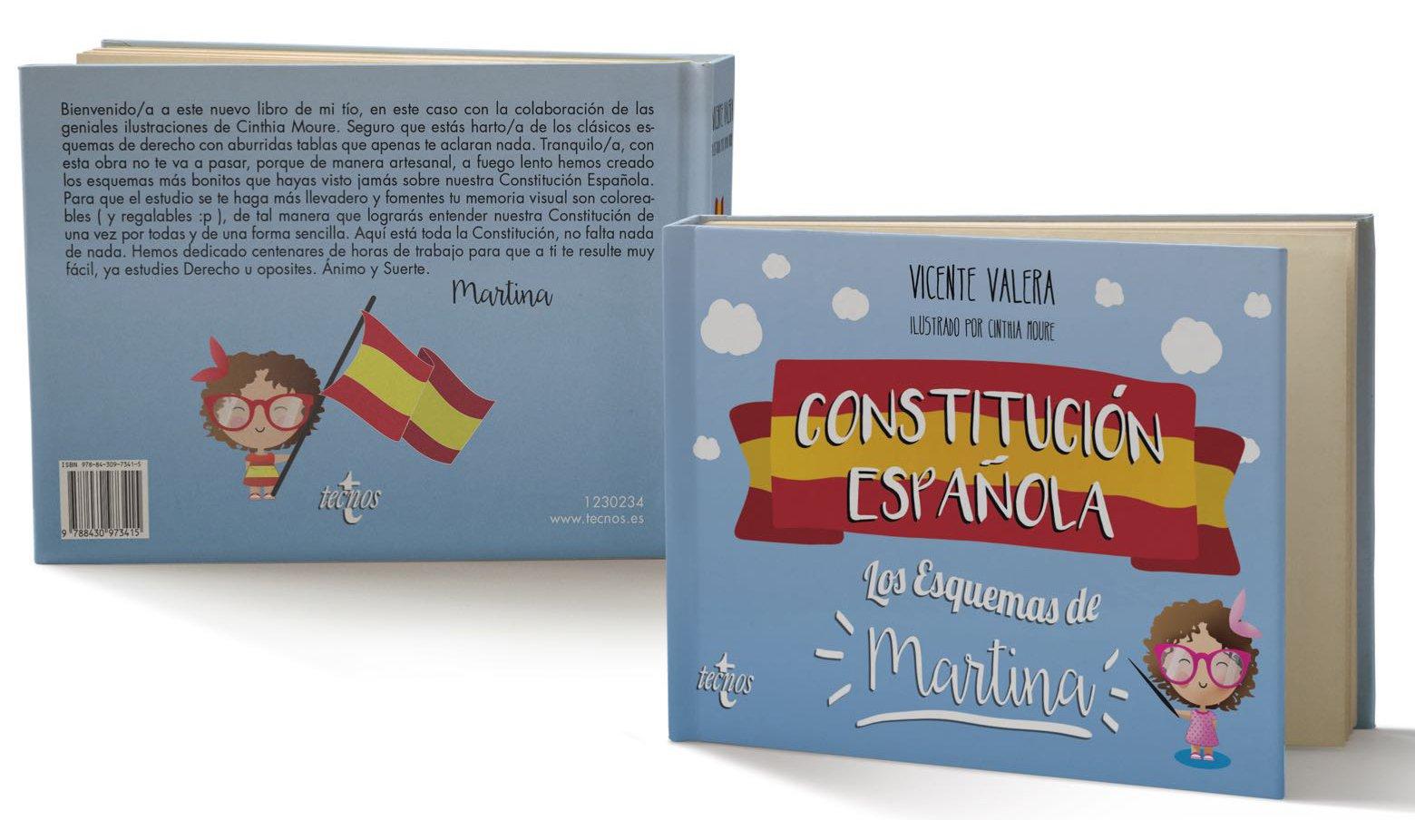 Constitución Española Los Esquemas De Martina Derecho Práctica Jurídica Amazon Es Valera Vicente Moure Cinthia Libros