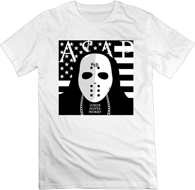 Mafia Crew Neck Printed T-shirt Gray Mens Novelty Cotton T Shirt