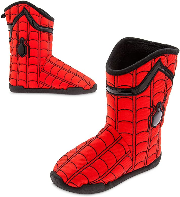 Marvel Boys Spiderman Slippers Indoor House Shoes