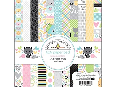 Image result for image of smitten kitten doodlebug designs paper pad