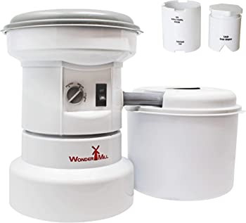 WonderMill Grain Mill Grinder with Flour Canister