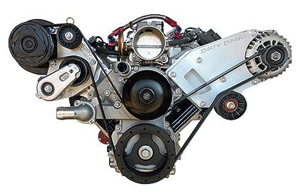 Amazon com: Dirty Dingo LS Billet Wide Alternator Only - GM
