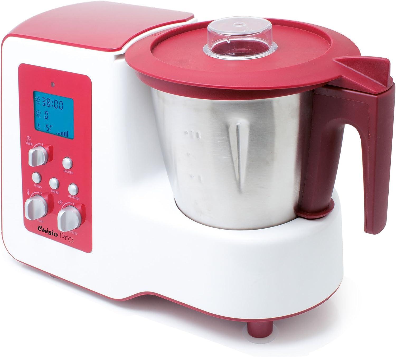 Robot multicocción modelo cocina reversa rojo: Amazon.es: Hogar