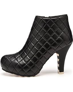 Lola Ramona LR1-026-401620-90, Bottes Pour Femme - Noir - Noir, 39 EU