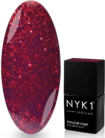 NYK1 Gel Nagellack, Farbe: Seduction, trocknet unter UV