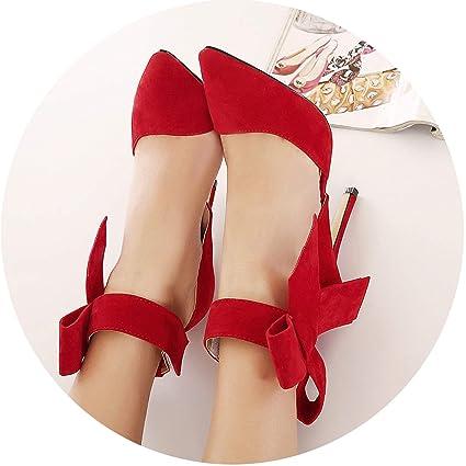 Women Dress High Heels Summer Spring Ladies Shoes Pointed Toe Pumps Footwear New