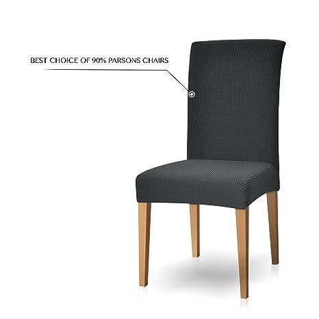 Subrtex, fodere per sedie sala da pranzo in spandex Gray: Amazon.it ...