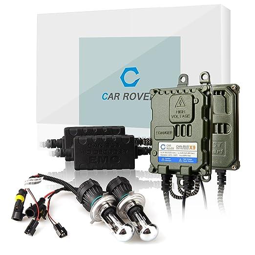 4 opinioni per Car Rover® H4-3 Canbus Bixenon Kit Xenon HID Senza Errori Decodifica Ballast 55W
