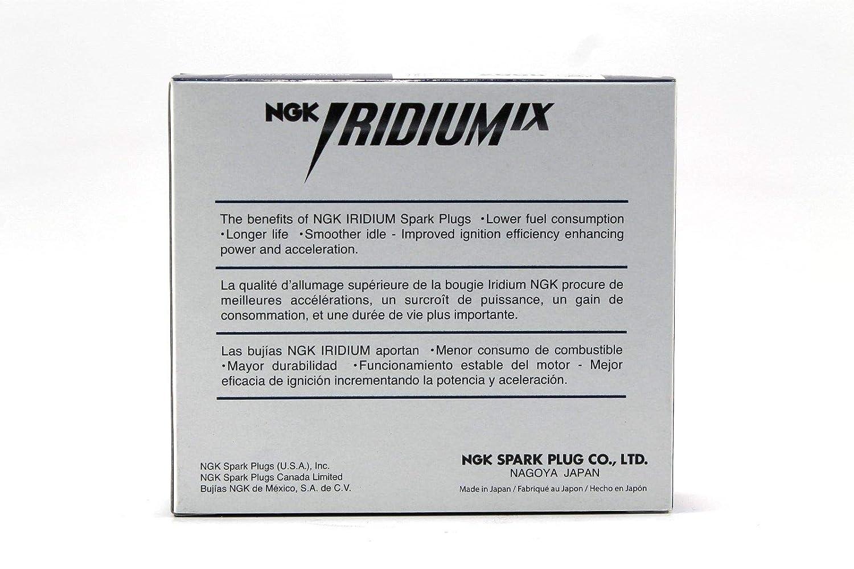 Amazon.com: NEW # NGK Iridium IX Spark Plugs BKR6EIX-11# 3764 (Pack of 6): Automotive