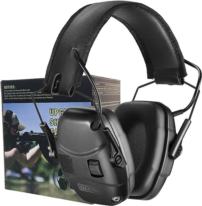 Army Green 1PCS Earmuff Anti-noise Earmuff Shooting Hearing Protection Earmuff for Worker Shooter