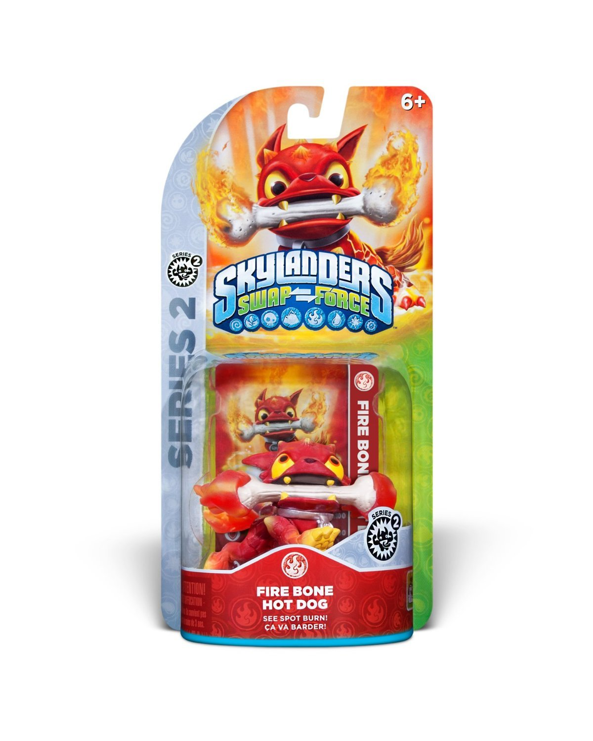 Skylanders SWAP Force: Fire Bone Hot Dog Character by Activision (Image #2)