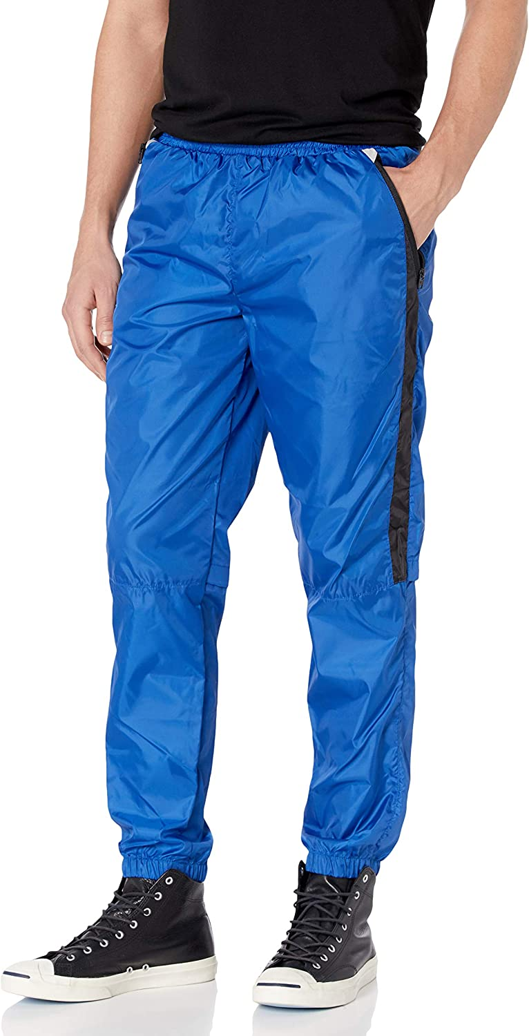 Southpole Mens Colorblock Athletic Wind Pants