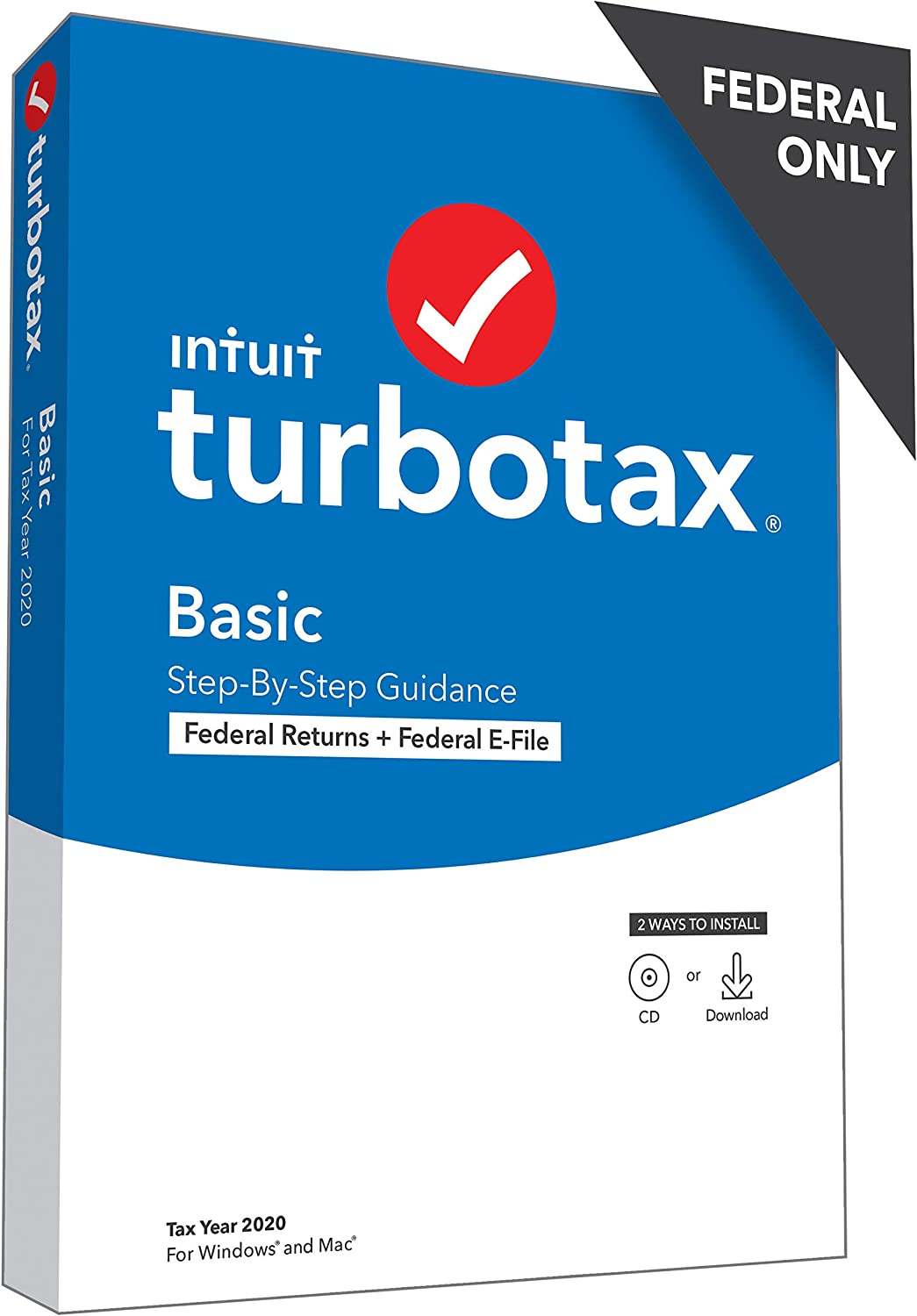 TurboTax Basic 2020 Discount Coupon Code