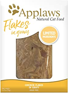 Applaws Cat Pouch 1x(12x2.47oz) Chicken Flakes in Gravy