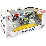 Pull & Speed 15813010 - Set di 3 macchinine di Mario Kart 8, scala 1:43