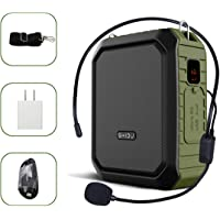 Shidu Portable Bluetooth Voice Amplifier with Wired Microphone Headset