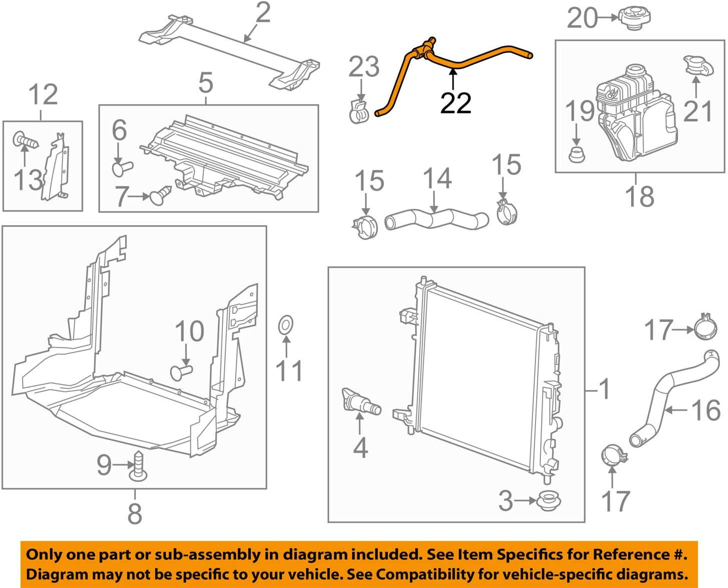 [DVZP_7254]   Amazon.com: General Motors 22908202, Engine Coolant Recovery Tank Hose:  Automotive | Gm Engine Coolant Diagram |  | Amazon.com