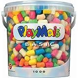 PlayMais Basic - Cubo de 1000 piezas de construcción ecológico (Loick Biowertstoff 160027)