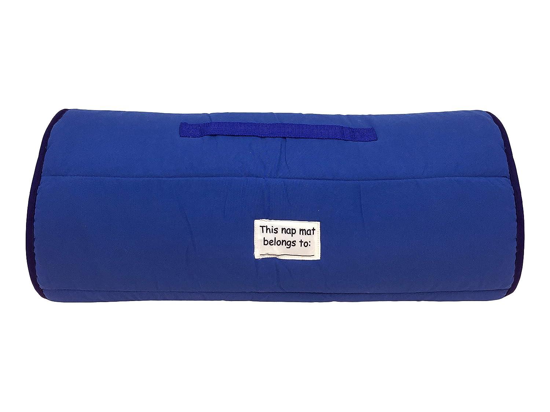 Official Marvel Product Built-in Pillow and Blanket Marvel Spiderman Spidey Squares Nap Mat Ages 3-7 Super Soft Microfiber Kids//Toddler//Childrens Bedding