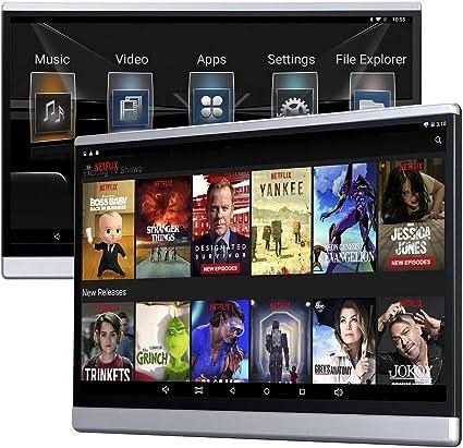 Car Back Seat TV Monitors Sync Screen Phone Mirror Facebook IPS 4K ...