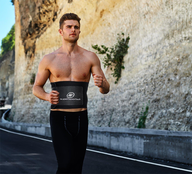 Premium Bauchweggürtel für Mann & Frau + Gratis Tragetasche + Gratis E-Book - Neuer Schwitzgürtel Schnell und Einfach Abnehmen |