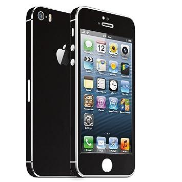 Iphone 5s Schwarz Matt Folie Skin Zum Aufkleben Bumper Case Cover Schutzhülle I Phone