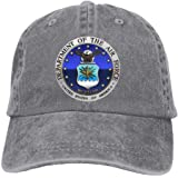 US Department of The AIR Force Adjustable Washed Twill Baseball Cap Dad Hat