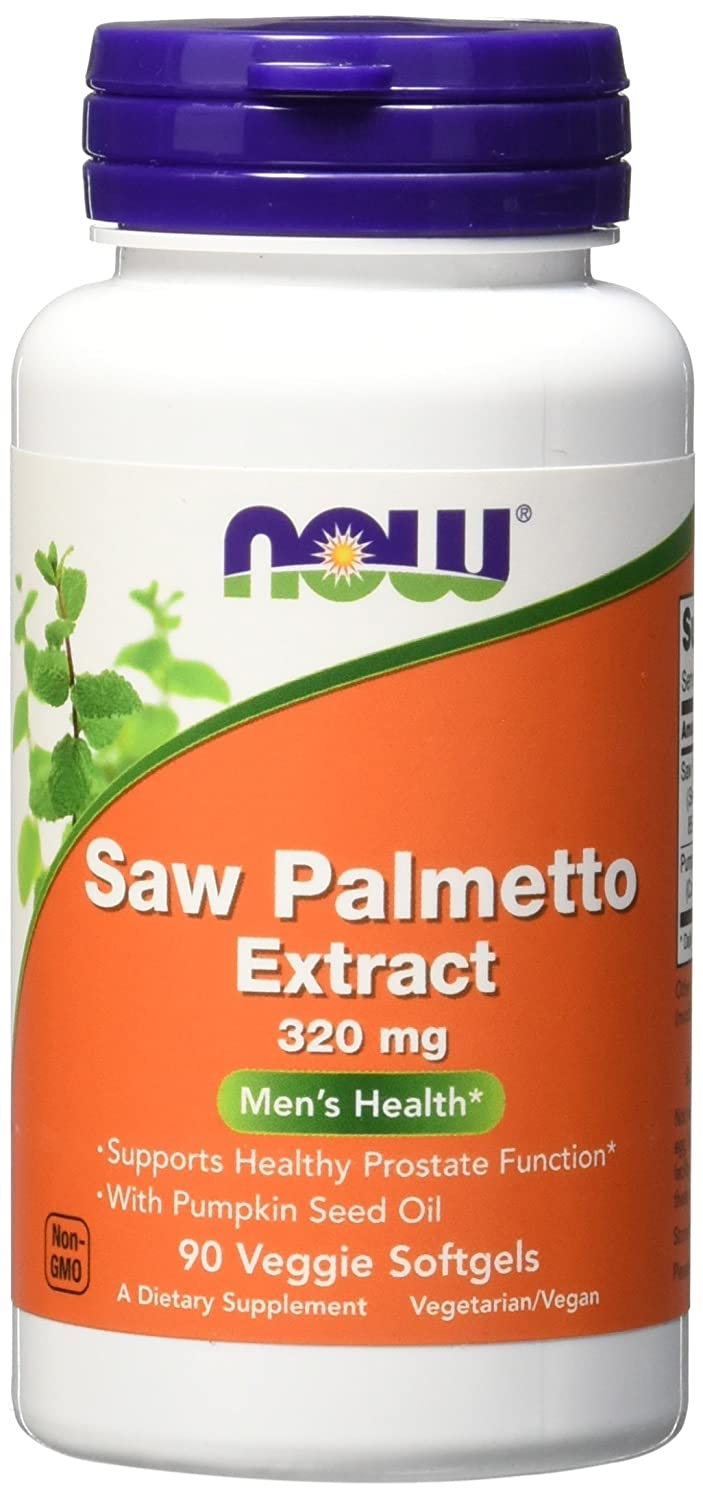 NOW Saw Palmetto 320mg Softgels Image 1
