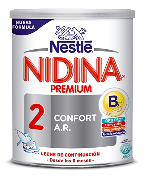 NESTLÉ NIDINA CONFORT DIGEST 2 - A partir de los 6 meses - Leche de continuación