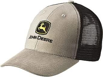 John Deere - Gorra de béisbol, Color Gris y Negro: Amazon.es: Ropa ...