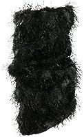 J.ann Women's 2 Pair Pack Animal Printed Fuzzy Light-weight Leg Warmer
