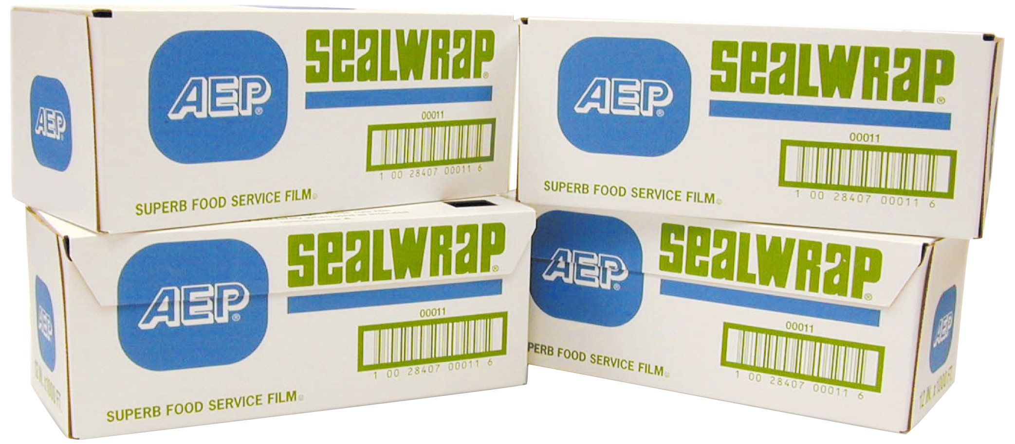 SealWrap Plastic Wrap, 18'' Wide by 1000' Length, PVC, Clear by SealWrap