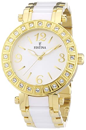 Festina F16644/1 - Womens Wristwatch, diversi materiali, color: multicolor