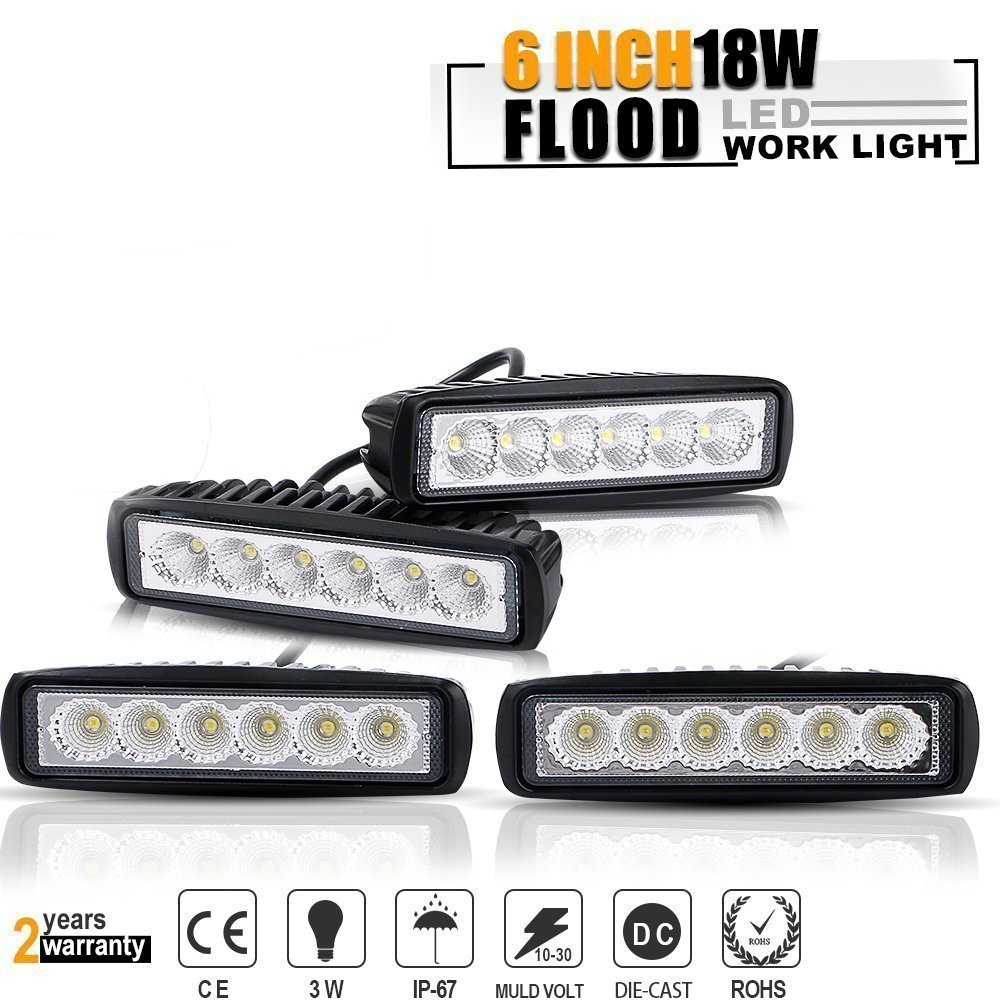 Amazon.com: TURBOSII 4PCS Backup Driving Fog Lights 6