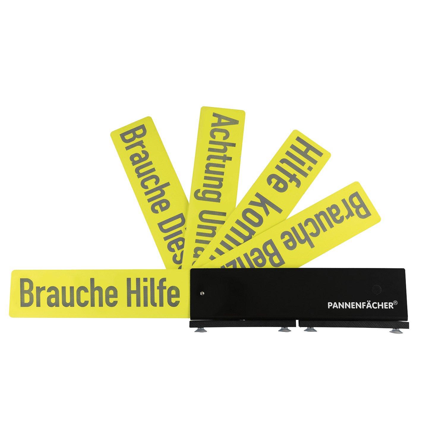 Pannenfächer 04671 Warnhinweis-Schild für Pannensituationen ( mit 5 verschiedenen Pannen/Warnhinweisen ) GOUU6|#GOURMETmaxx