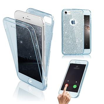 Funda Doble para iPhone 6s, Vandot Bling Brillo Carcasa Protectora ...