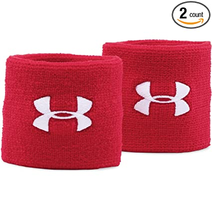 hot sale online ffe07 675fd Under Armour UA 3 quot  Performance Wristband – 2-Pack ...