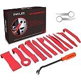 Phyles Strumento di Rimozione Auto, 14 Pezzi Autoradio Trim Rimozione Fermaglio Smontaggio Attrezzi Removal Tools Kit per Cruscotto Auto Radio Door Clip Panel Audio