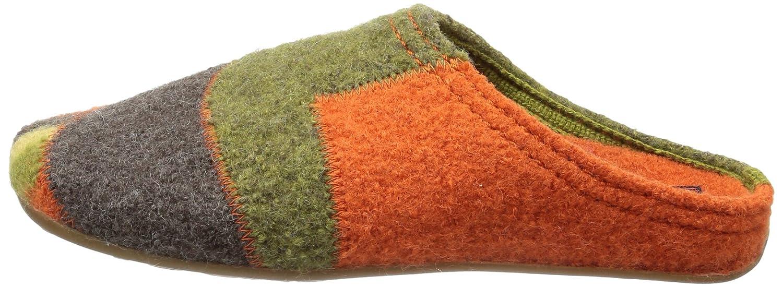 Haflinger Everest Quarter - Zapatillas de estar por casa de lana para mujer marrón Braun (dunkelbraun 62) 38 CJCyNJAsM9