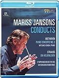 Mariss Jansons Conducts [Mariss Jansons, Mitsuko Uchida, Symphonieorchester Des Bayerischen Rundfunks] [Arthaus: 108079] [Blu-ray] [2013] [NTSC]