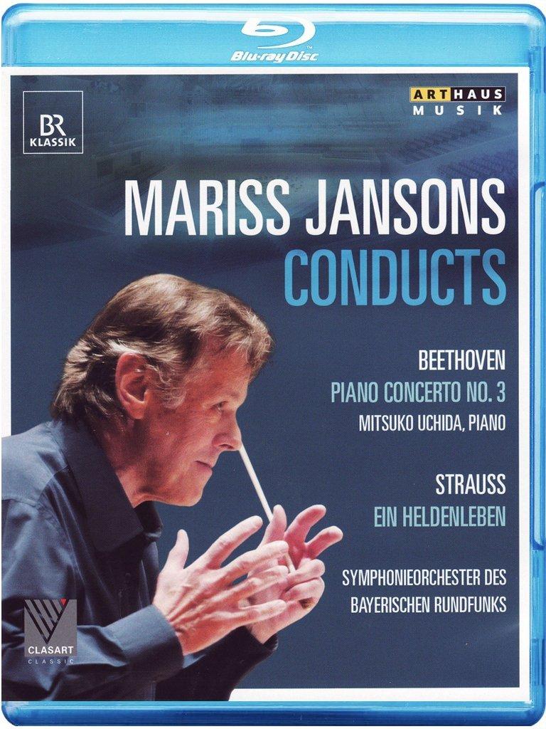 Mitsuko Uchida - Jansons Conducts Beethoven & Strauss (Blu-ray)