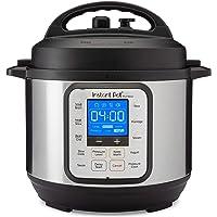 Instant Pot NOVA 3 Pressure Cooker, 3qt, Stainless Steel/Black