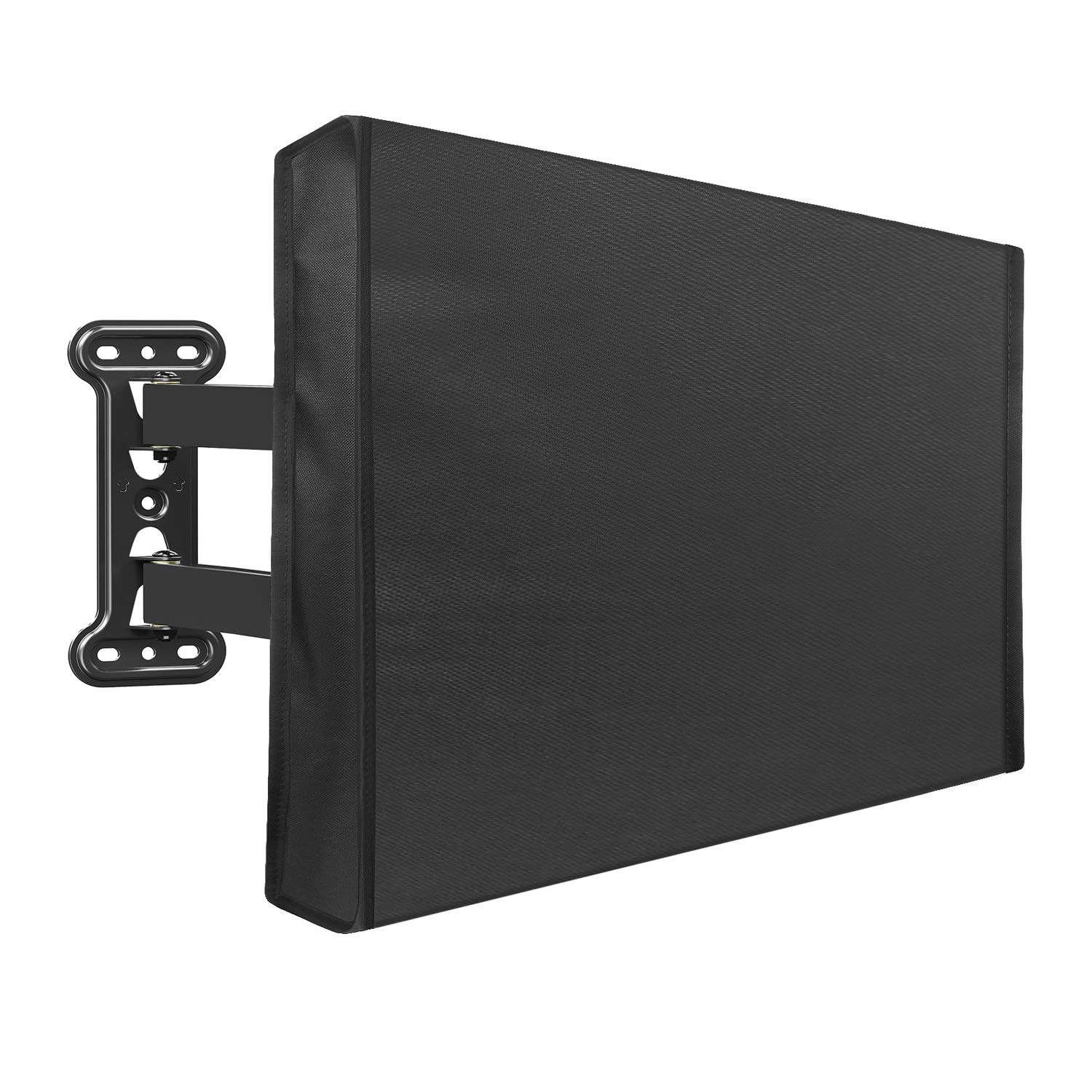 Mounting Dream Outdoor TV Cover for 53'' to 55'' TV with Fully Bottom Cover, Waterproof and Weatherproof TV Screen Protector for Outside TVs with Scratch Resistant Interior and Remote Control Pocket by Mounting Dream