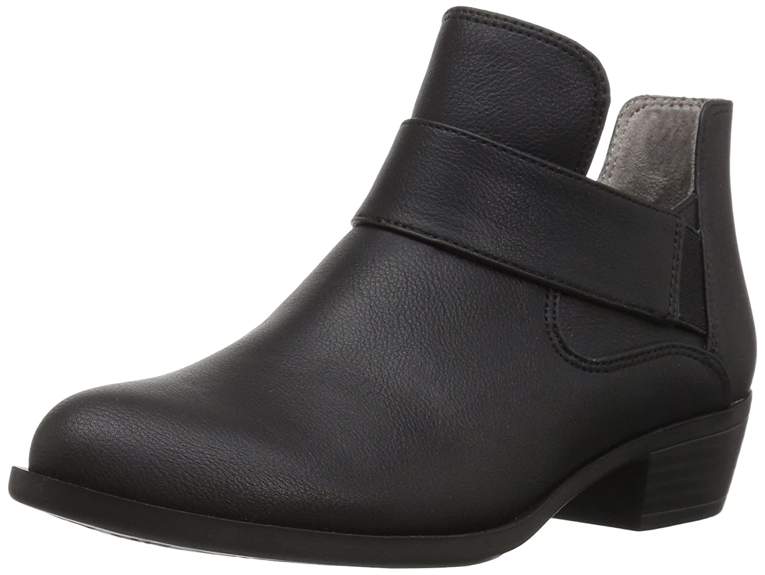LifeStride Women's Able Ankle Bootie B06Y284ZVV 7 W US|Black