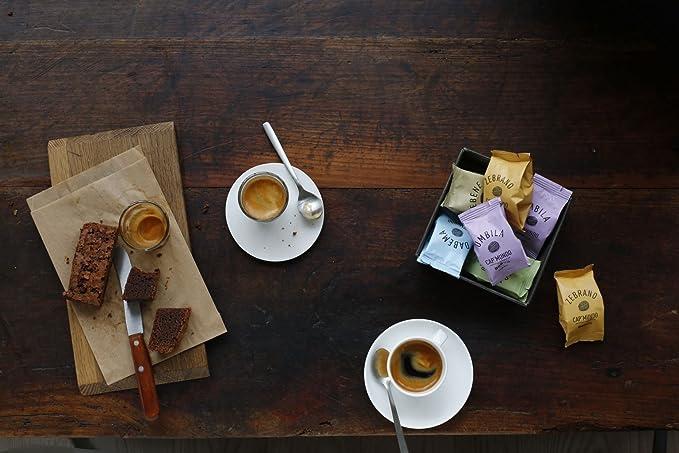 Cap Mundo DABEMA 10 cápsulas de café descafeinado para cafeteras Nespresso - 100% Arabica: Amazon.es: Alimentación y bebidas