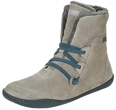 a2699c30aaf478 Camper Peu Cami 46477 Black Blue Womens Hi Leather Boots  Amazon.de ...