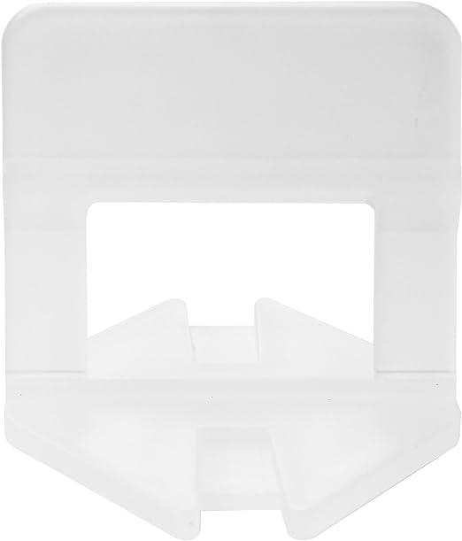 Lantelme 300 St/ück Zuglaschen 3mm Fugenbreite Laschen f/ür Fliesen 3-15mm Fliesenverlegehilfe f/ür Heimwerker und Profi