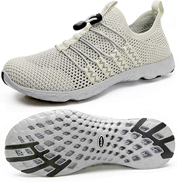 Amazon.com | DLGJPA Men's Quick Drying Water Shoes for Beach or Water  Sports Lightweight Slip On Walking Shoes Apricot | Water Shoes
