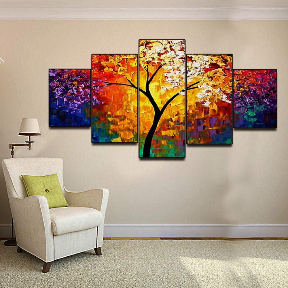 B  Sweety Peinture à l'huile Salon Chambre Toile Mur de Fond décoration Peinture Suspendue sans Cadre Noyau de Peinture